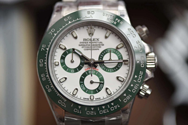 Replica Rolex Daytona Green Ceramic Bezel